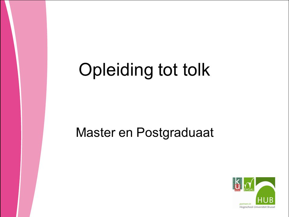 Master en Postgraduaat
