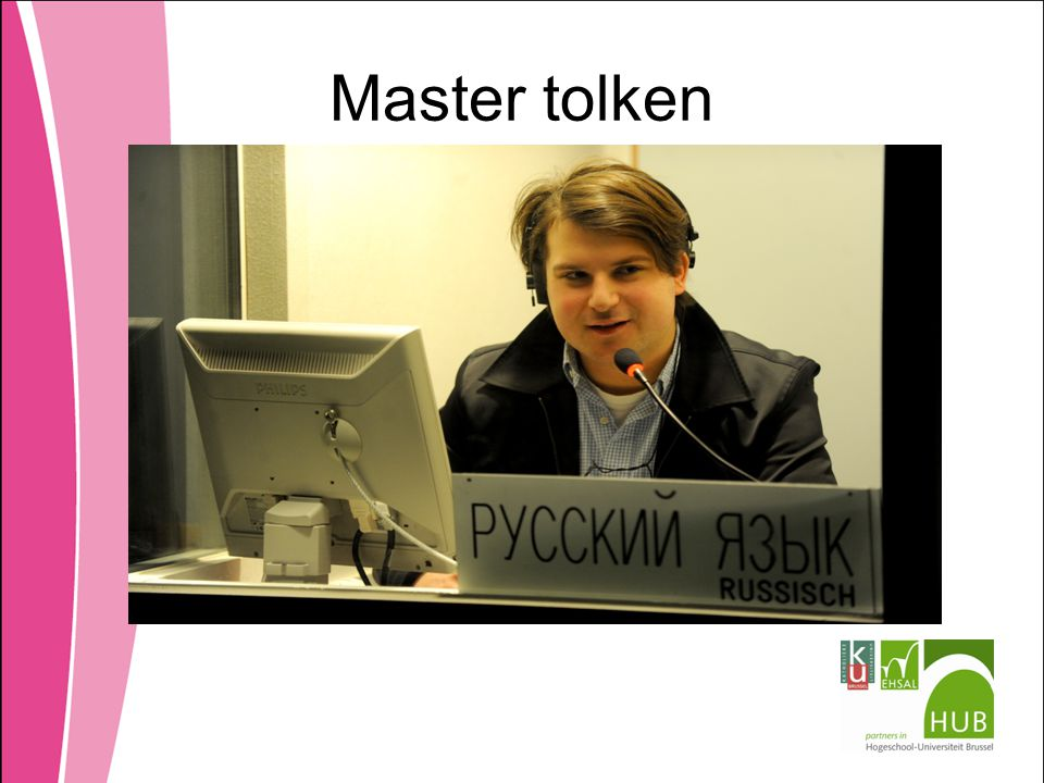 Master tolken