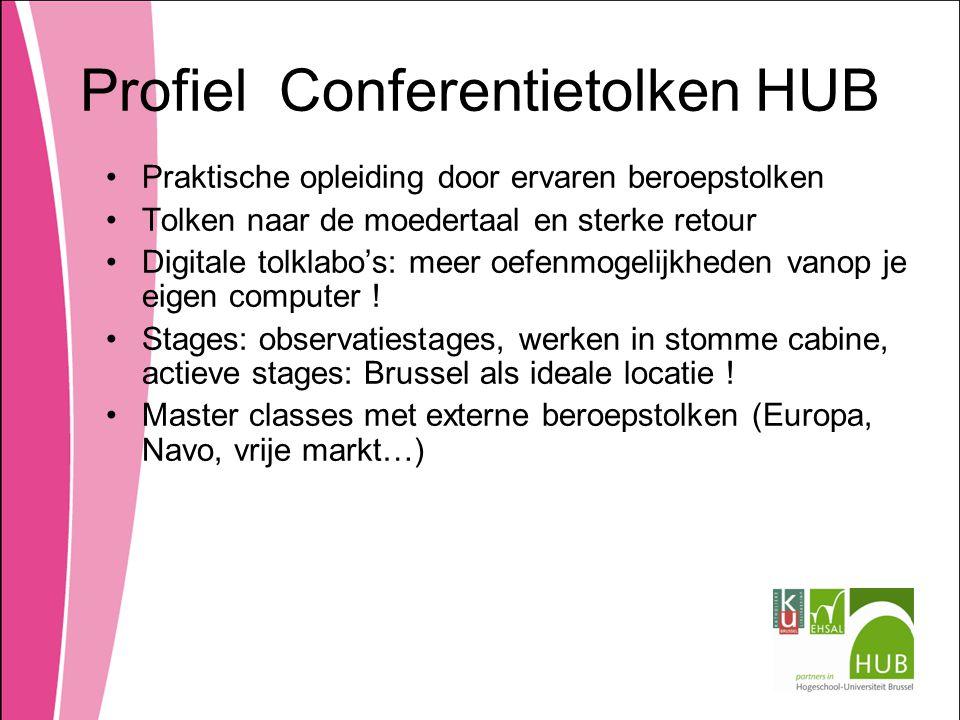 Profiel Conferentietolken HUB