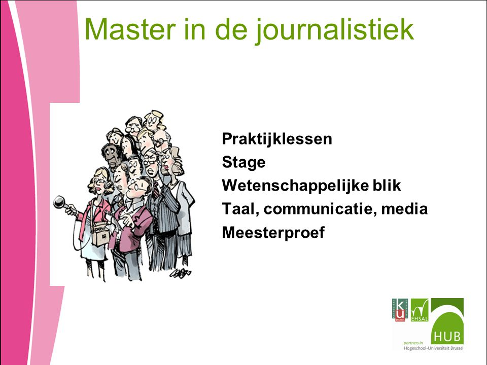 Master in de journalistiek