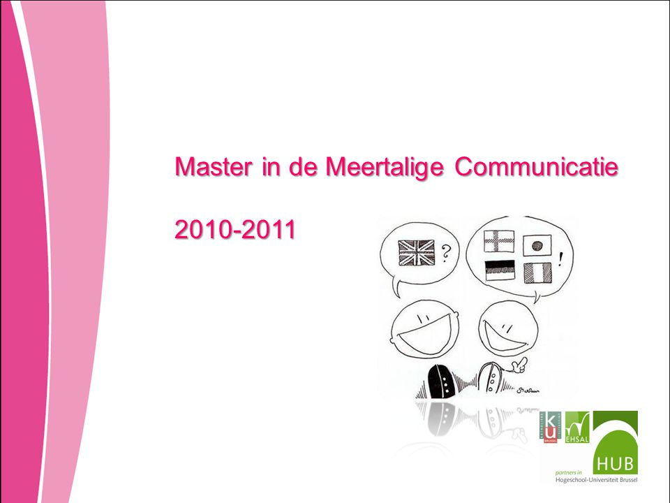 Master in de Meertalige Communicatie