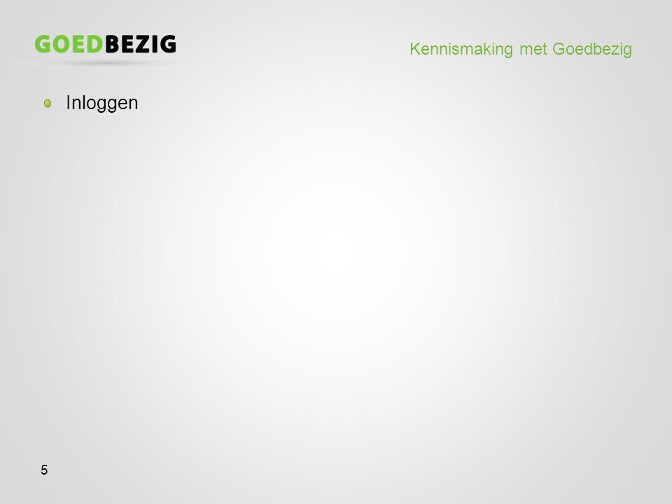 Kennismaking met Goedbezig