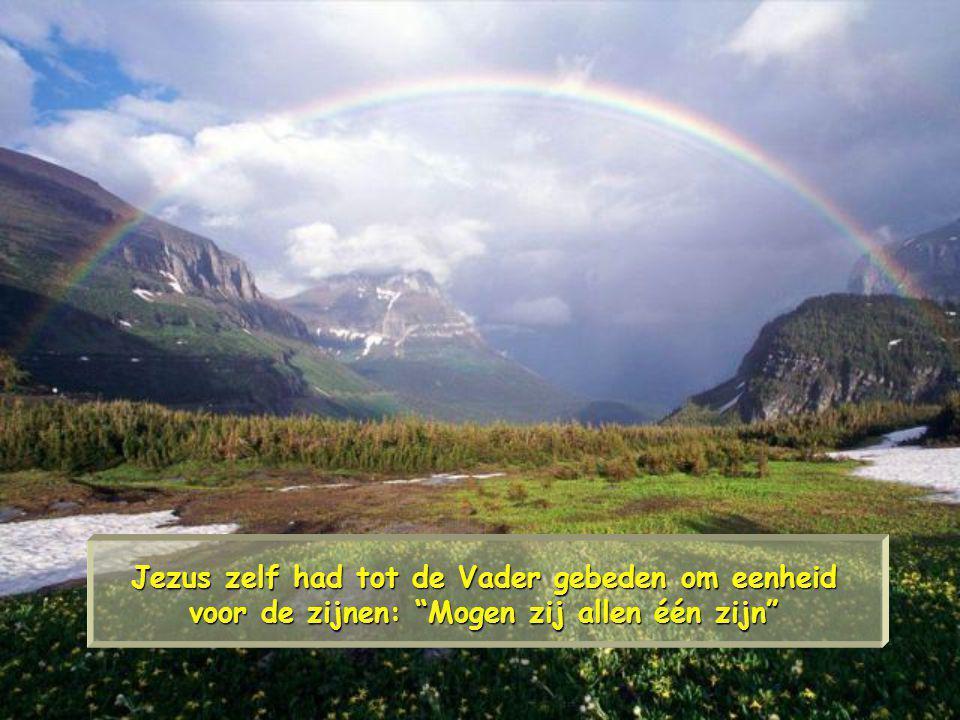 Jezus zelf had tot de Vader gebeden om eenheid voor de zijnen: Mogen zij allen één zijn