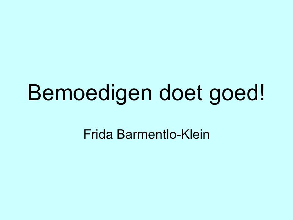 Frida Barmentlo-Klein