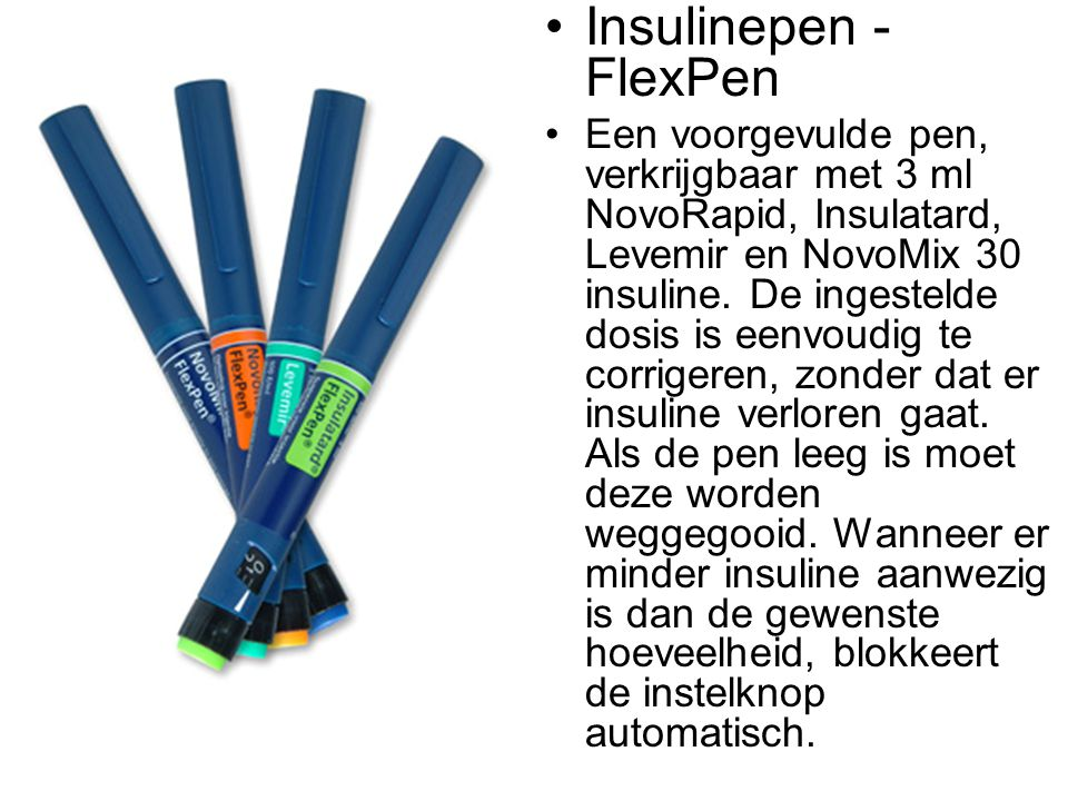 Insulinepen - FlexPen