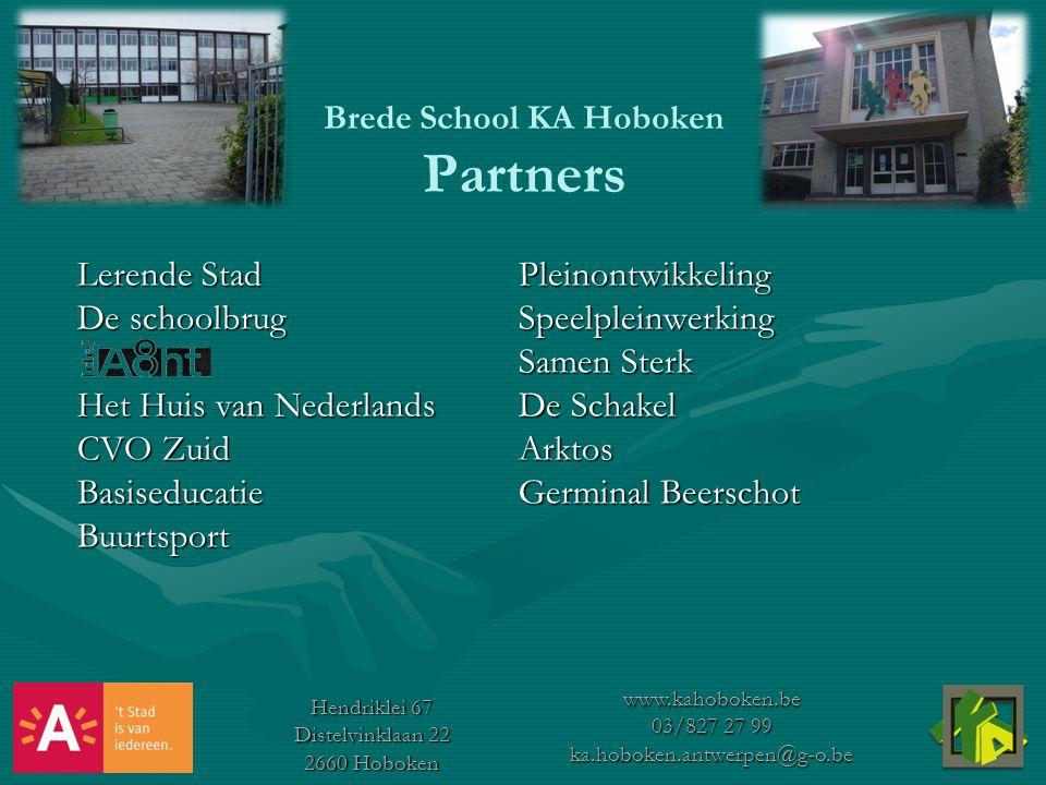 Brede School KA Hoboken Partners