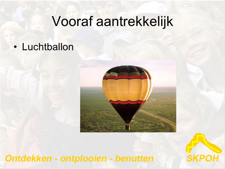 Vooraf aantrekkelijk Luchtballon