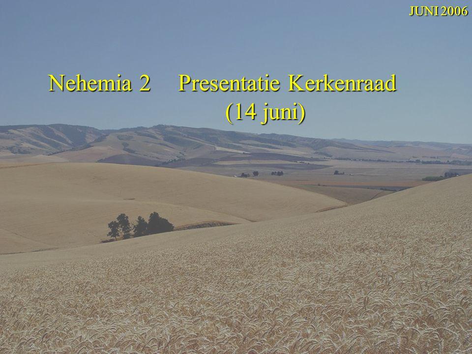 Nehemia 2 Presentatie Kerkenraad (14 juni)