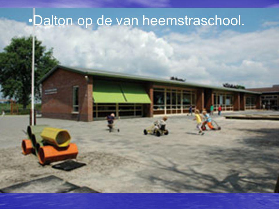 Dalton op de van heemstraschool.