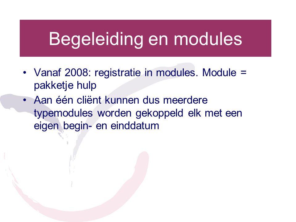 Begeleiding en modules