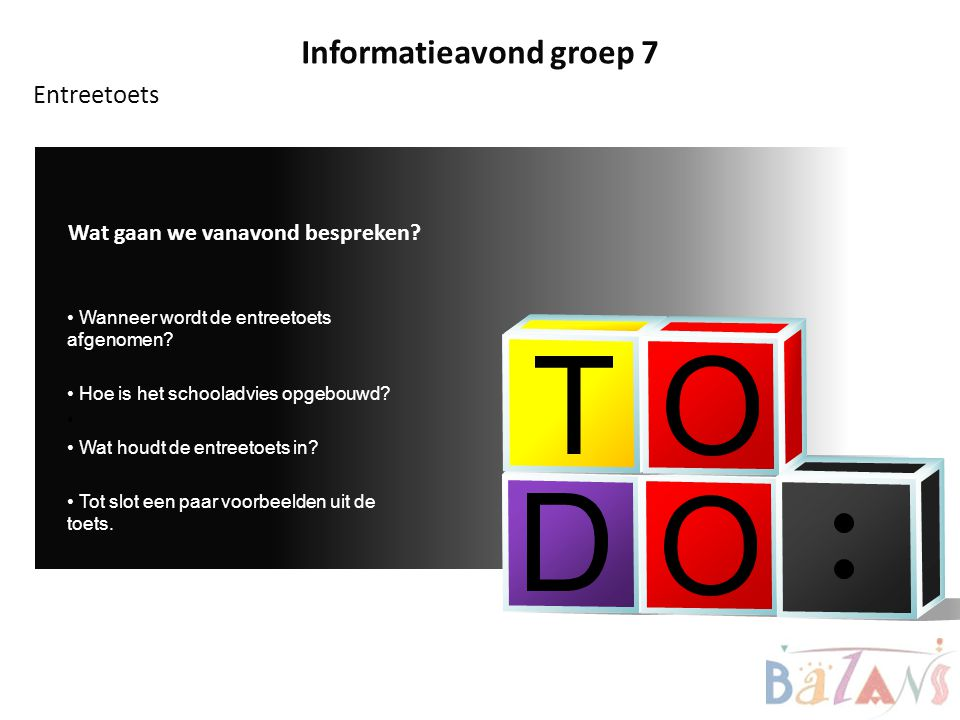 Informatieavond groep 7
