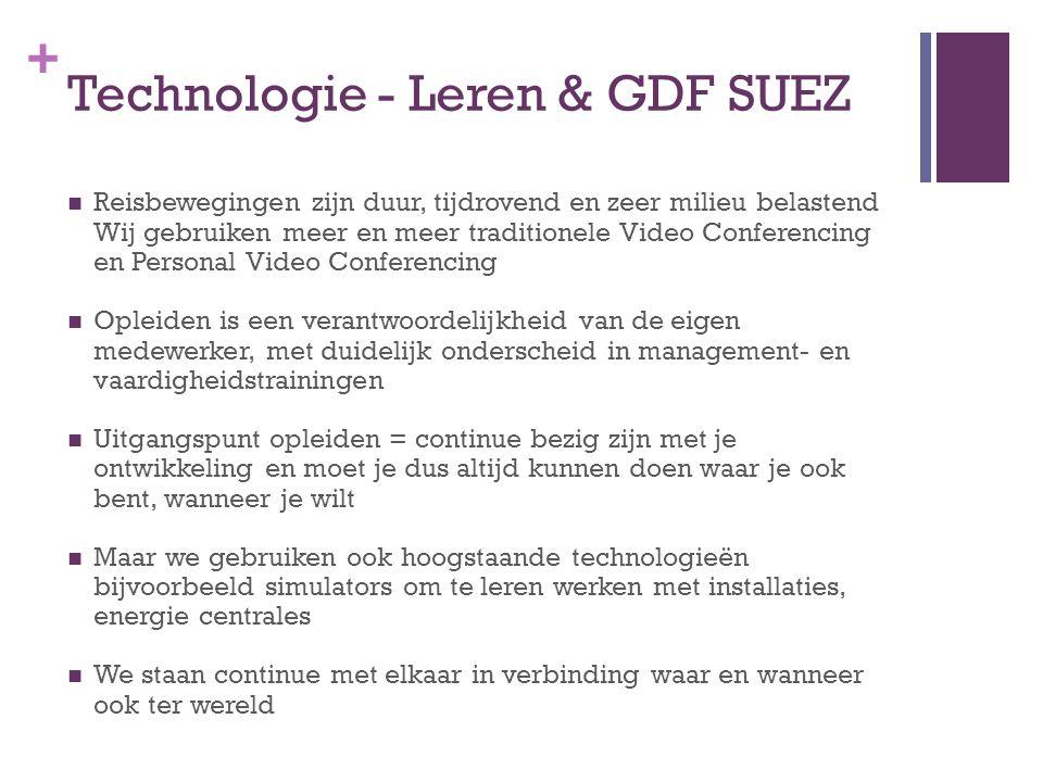 Technologie - Leren & GDF SUEZ