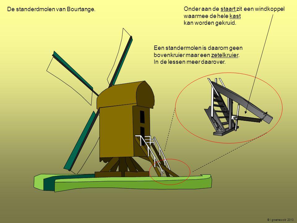 De standerdmolen van Bourtange.