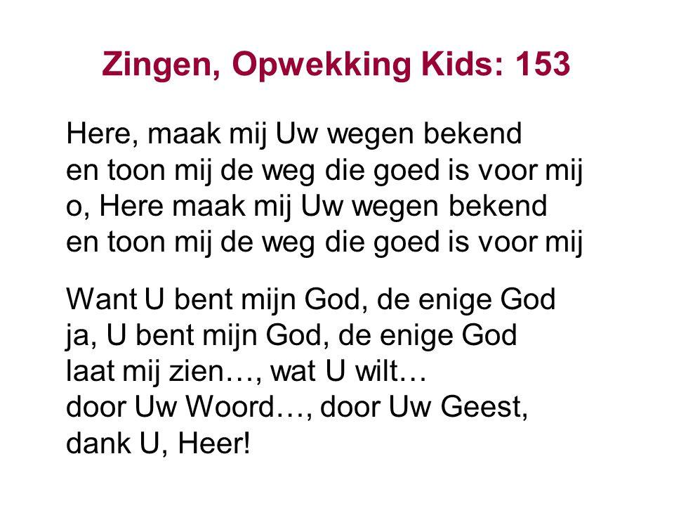 Zingen, Opwekking Kids: 153