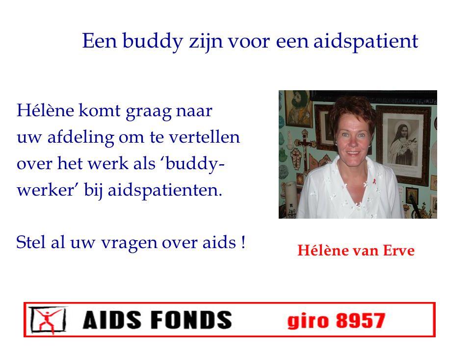 Een buddy zijn voor een aidspatient