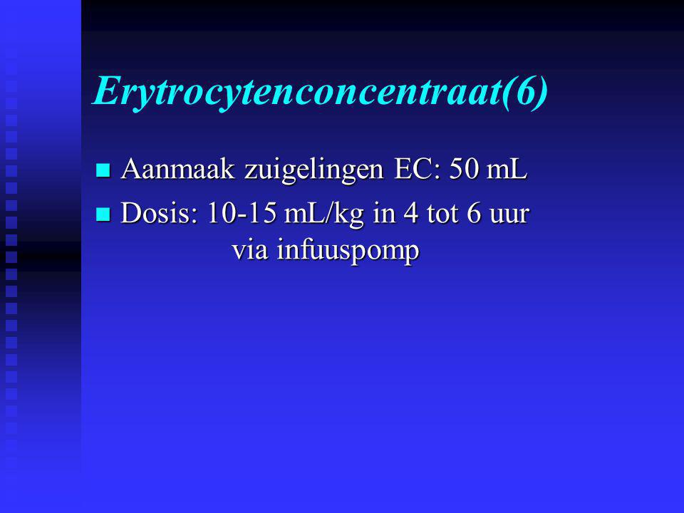 Erytrocytenconcentraat(6)