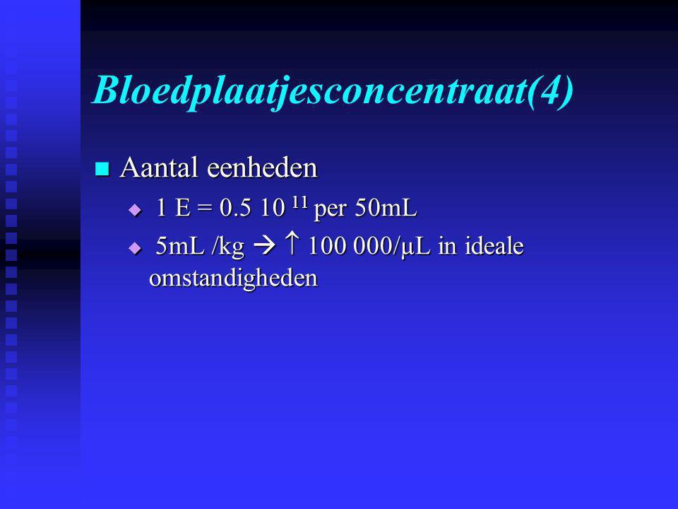 Bloedplaatjesconcentraat(4)