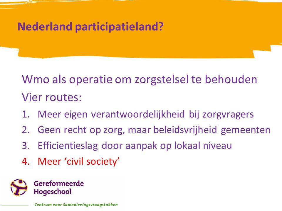 Nederland participatieland