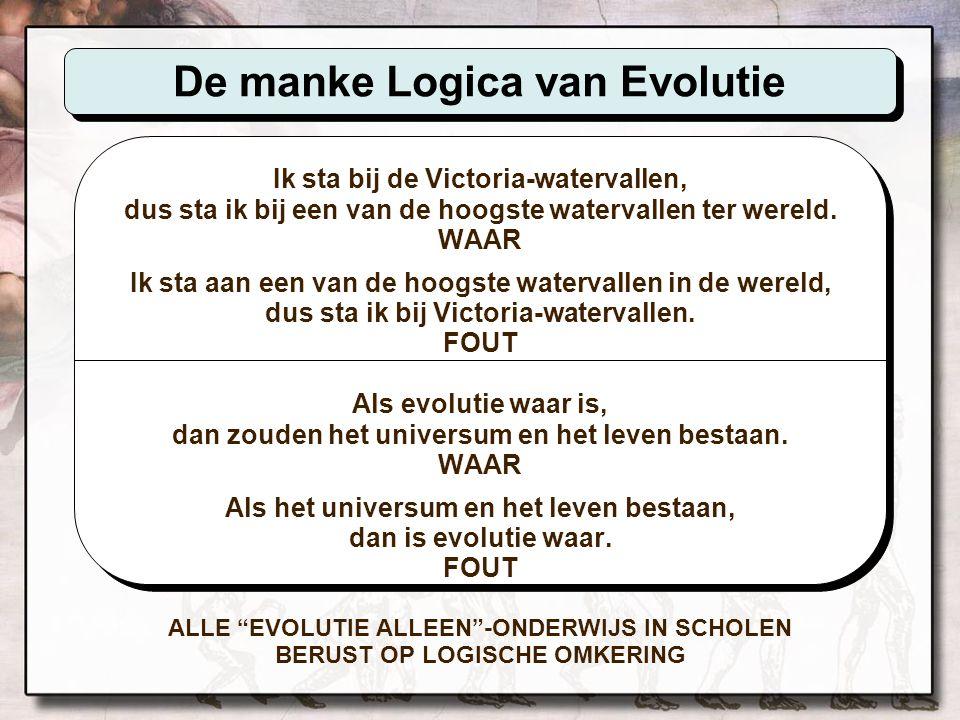 De manke Logica van Evolutie
