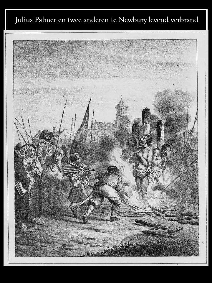 Julius Palmer en twee anderen te Newbury levend verbrand