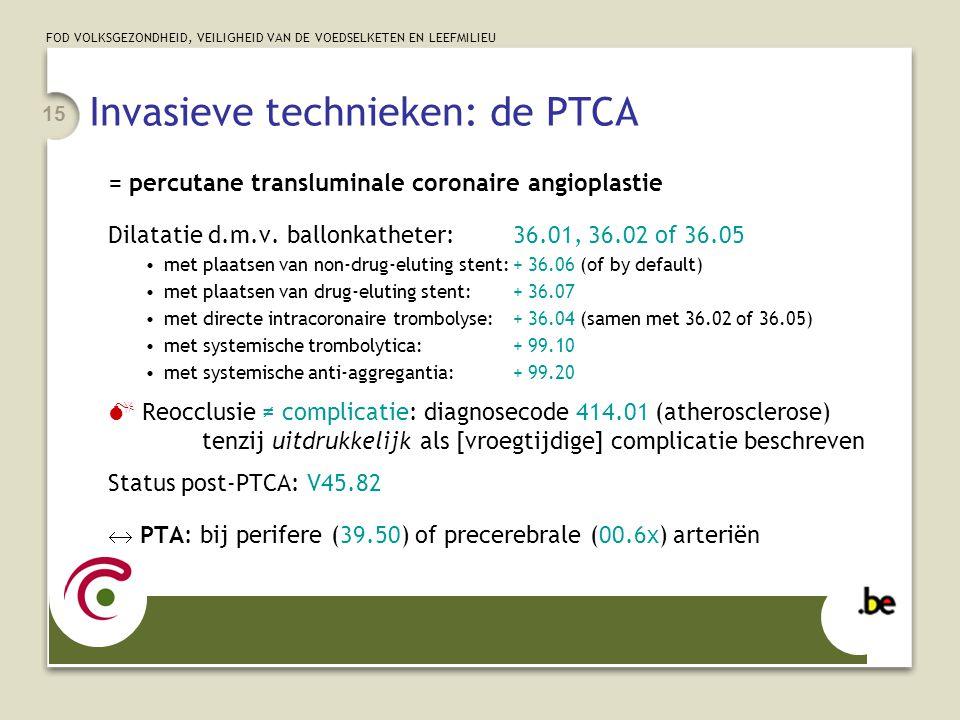 Invasieve technieken: de PTCA