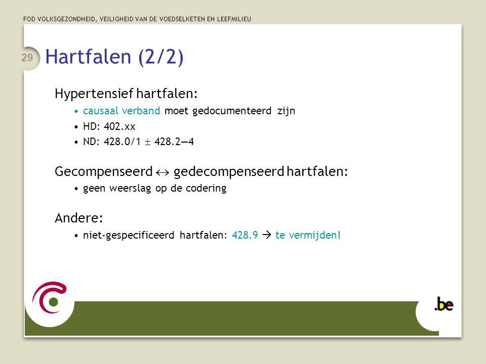 Hartfalen (2/2) Hypertensief hartfalen: