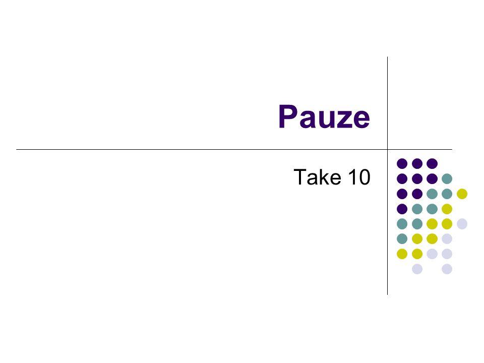 Pauze Take 10