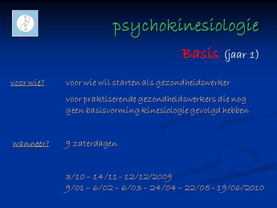 psychokinesiologie voor wie voor wie wil starten als gezondheidswerker.