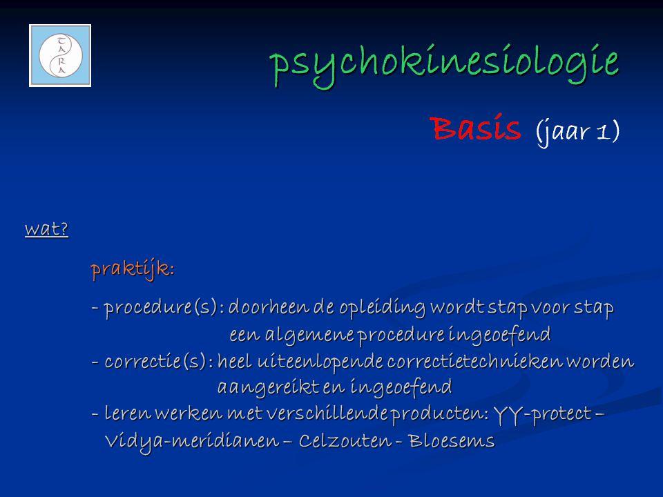 psychokinesiologie wat praktijk: