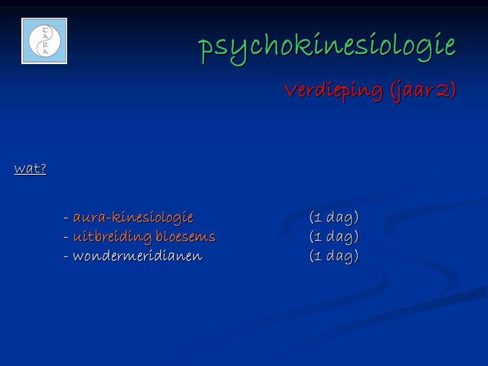 psychokinesiologie Verdieping (jaar 2) wat