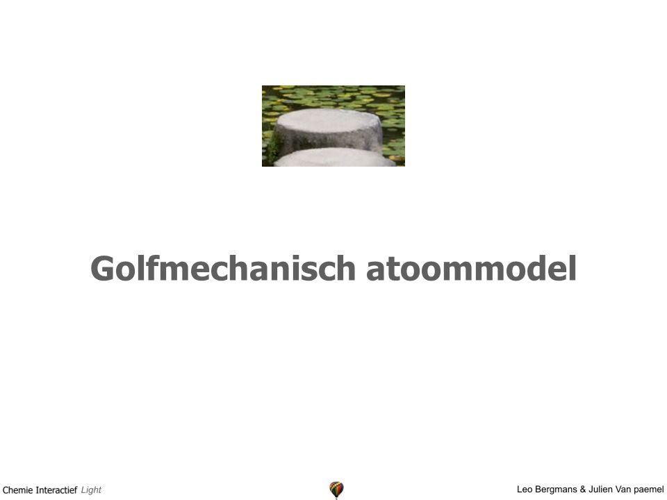 Golfmechanisch atoommodel