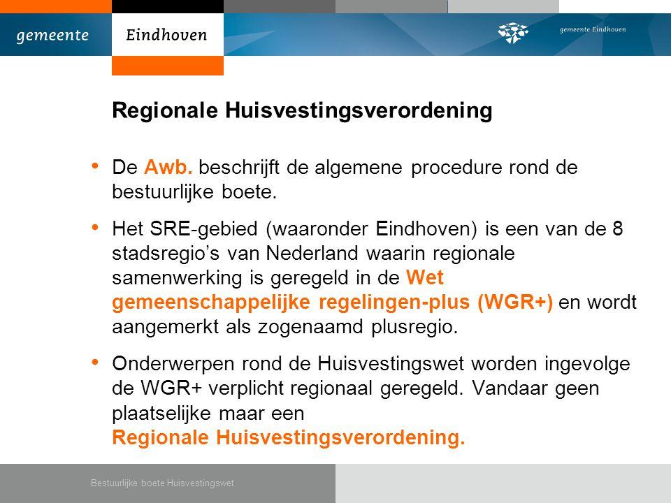 Regionale Huisvestingsverordening
