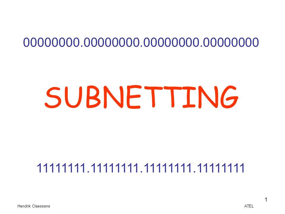00000000.00000000.00000000.00000000 SUBNETTING. 11111111.11111111.11111111.11111111.
