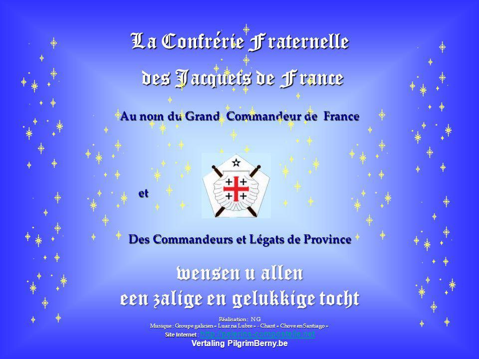 La Confrérie Fraternelle des Jacquets de France