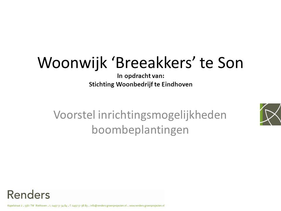 Woonwijk 'Breeakkers' te Son