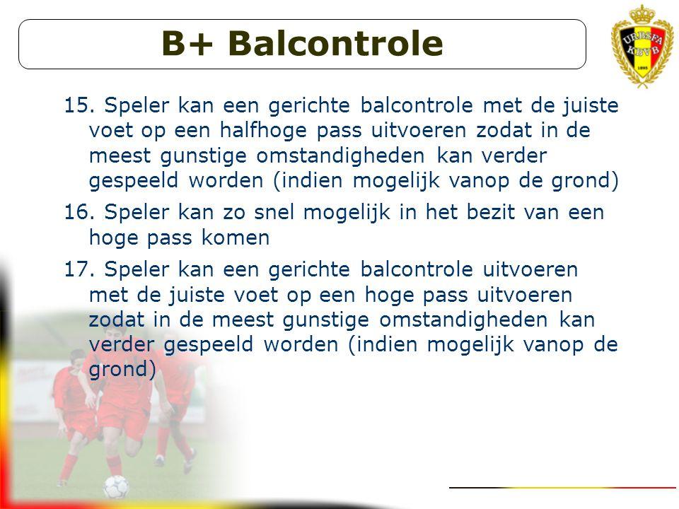 B+ Balcontrole