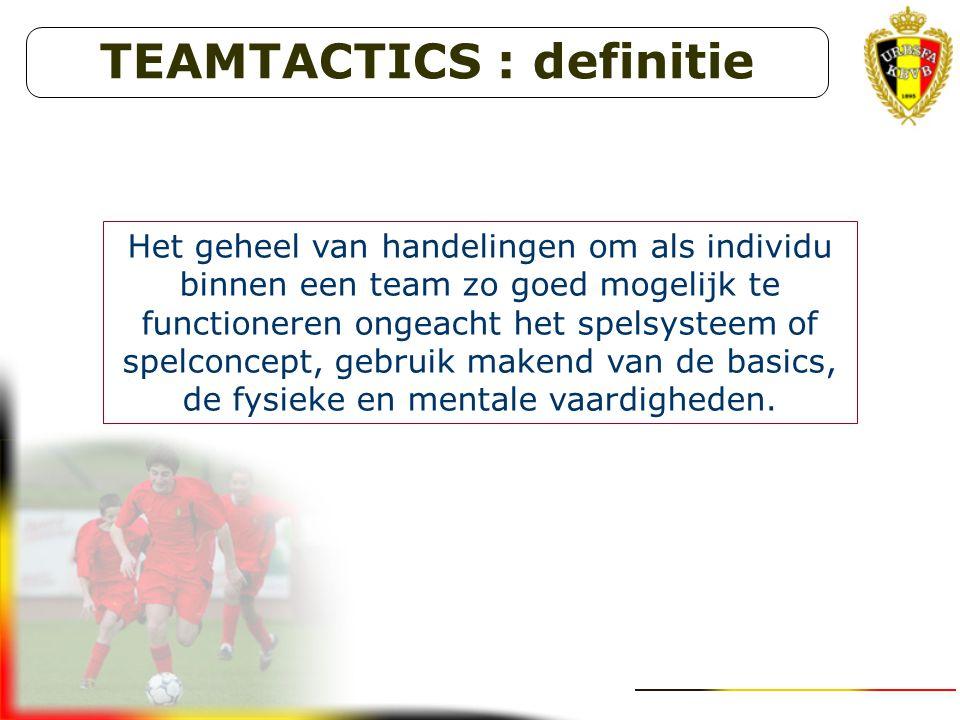 TEAMTACTICS : definitie