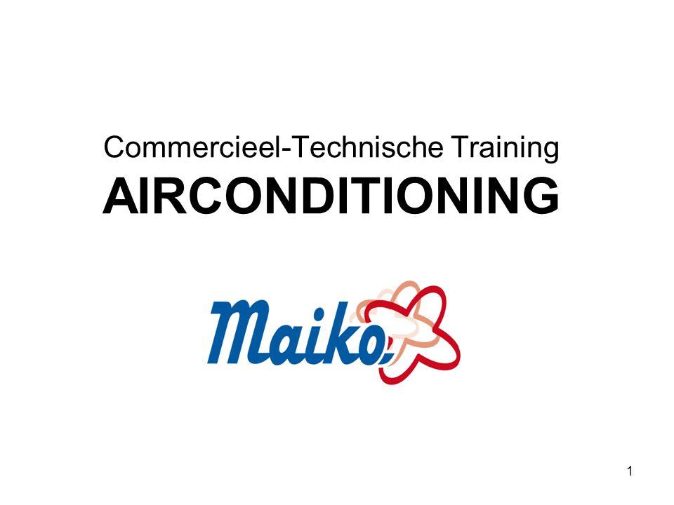 Commercieel-Technische Training AIRCONDITIONING