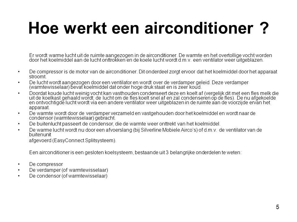 Hoe werkt een airconditioner