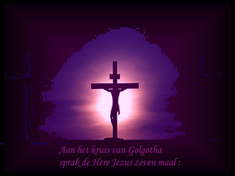 Aan het kruis van Golgotha