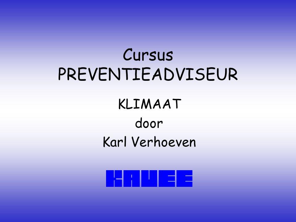 Cursus PREVENTIEADVISEUR