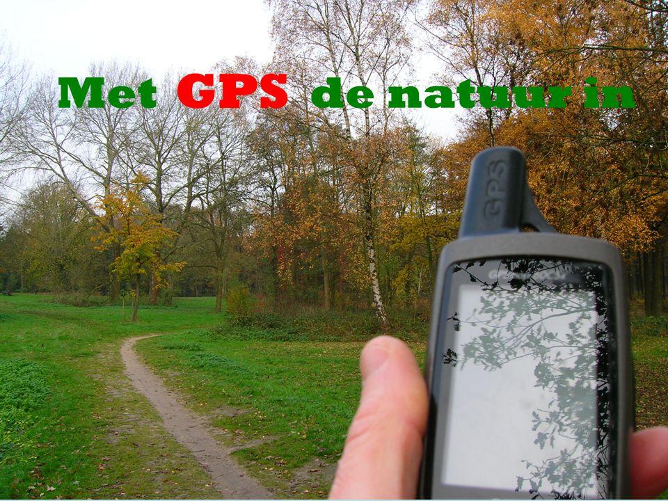 GPS Met de natuur in