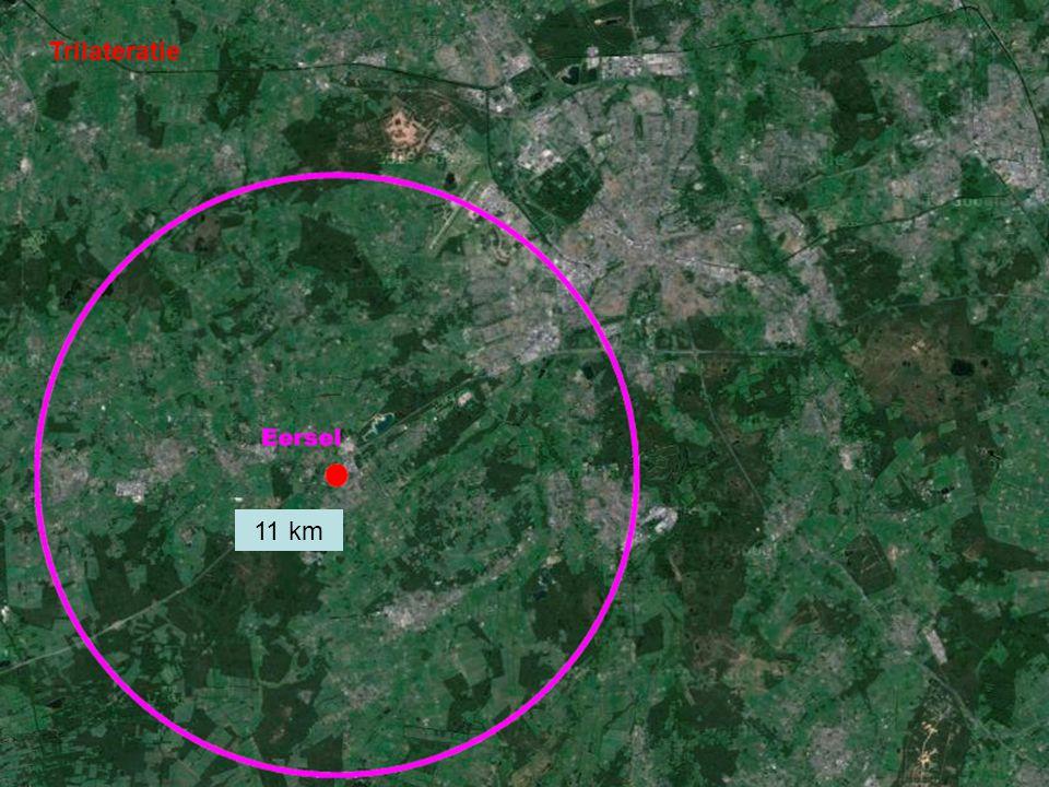 Trilateratie 11 km