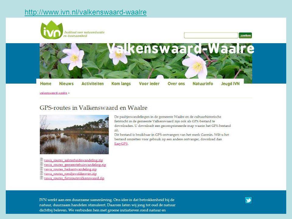 http://www.ivn.nl/valkenswaard-waalre