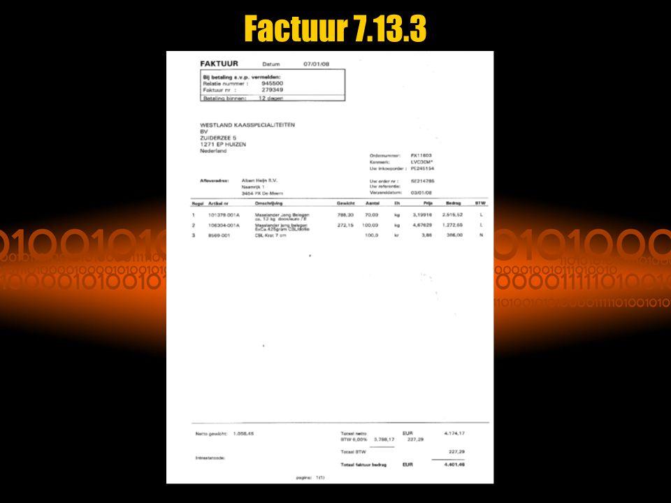 Factuur 7.13.3