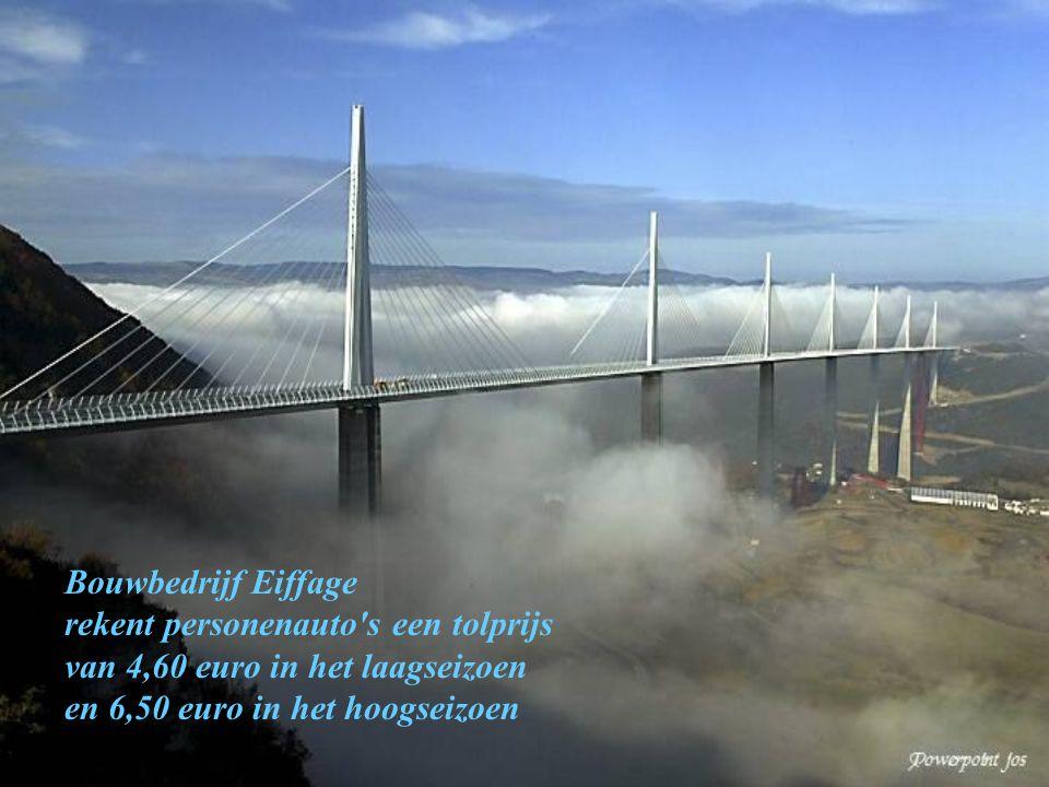 Bouwbedrijf Eiffage rekent personenauto s een tolprijs.