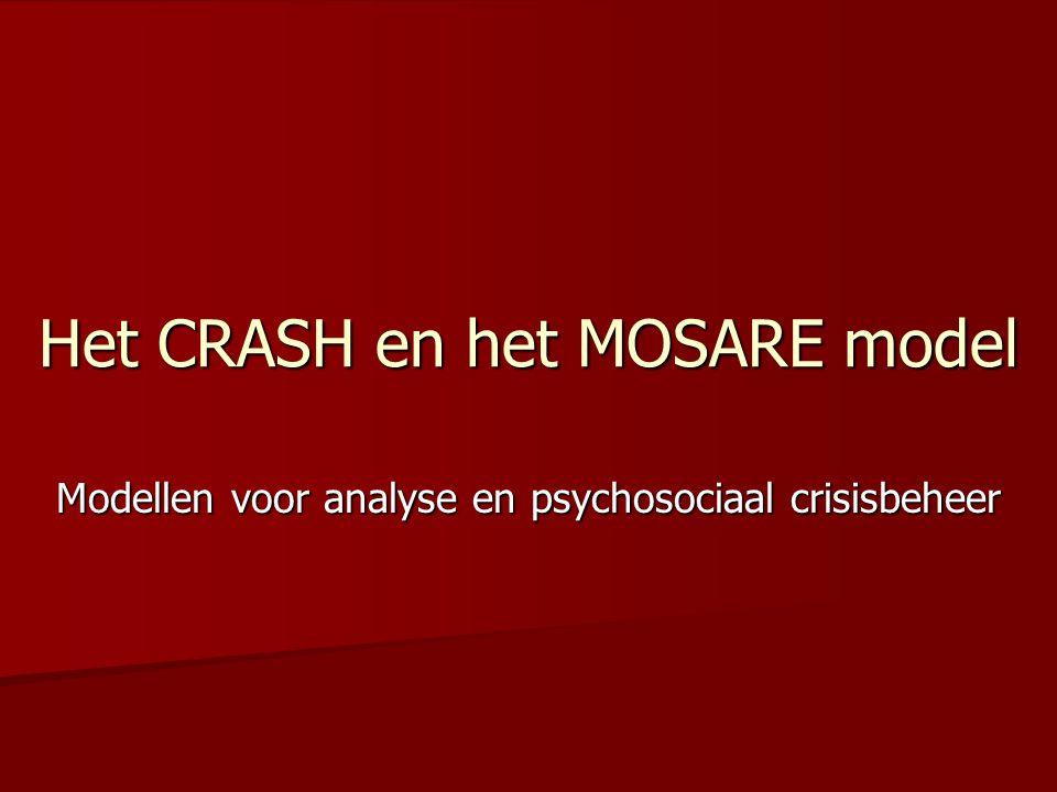 Het CRASH en het MOSARE model