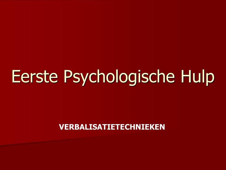 Eerste Psychologische Hulp