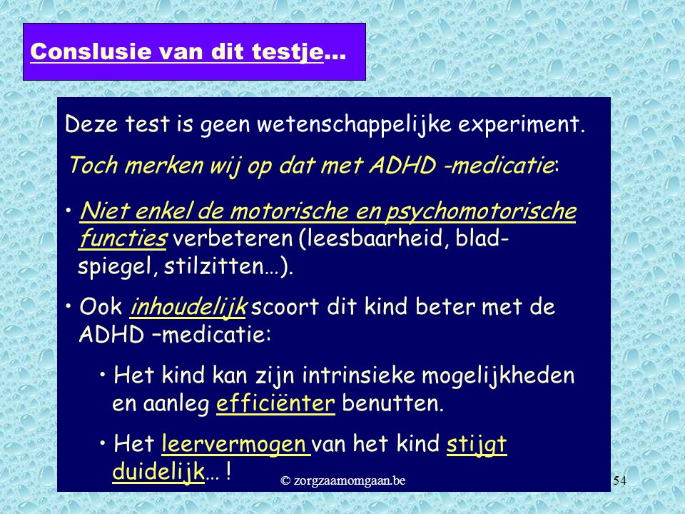 ADHD – ADD – HS in een notendop - ppt video online download