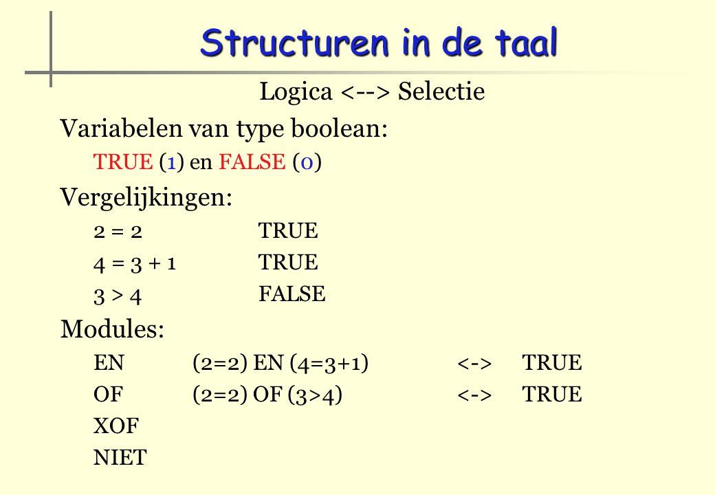 Logica <--> Selectie